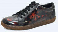 60's sneakers. Red skull rubb off. Laces