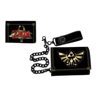 - Nintendo - Zelda Leather Trifold Chain Wallet