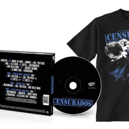 Censurados (CD + Tshirt Preta)
