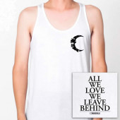 All We Love White Tank Top