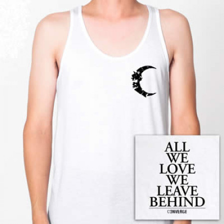 - All We Love White Tank Top