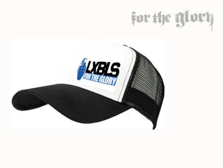 - LXBLS White Trucker Cap