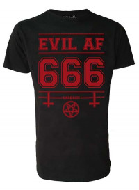 Evil As F k Mens T Shirt