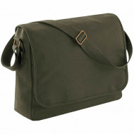 Classic canvas messenger (Military Green)