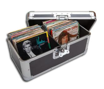 - Single Schallplatten Koffer 200