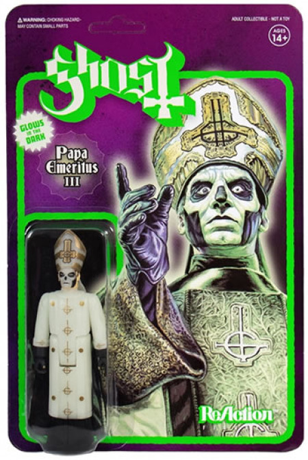 - Ghost ReAction Figure - Papa Emeritus III