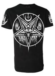 Pentagram Baphomet Mens T Shirt