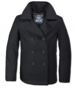Pea Coat black