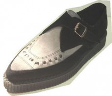Steelground Single monk pointed creeper shoe