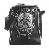 Motorhead - Black Flight Bag W/ Logo