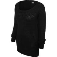 Ladies Long Wideneck Sweatshirt