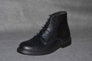 sixties boot black box leather