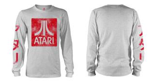 - Atari - Box Logo Grey