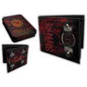 Slipknot - Black/Red Tin Wallet w/ Ring