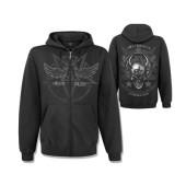 Alchemy - satan's shield zip hoodie
