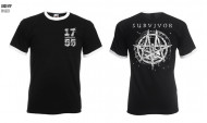 1755 Survivor Ringer Tshirt