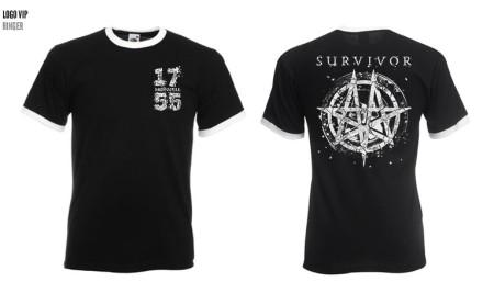 - 1755 Survivor Ringer Tshirt