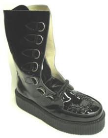 Steelground  Boot Creeper Black