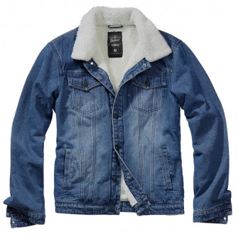 - Sherpa Demin Jacket Blue
