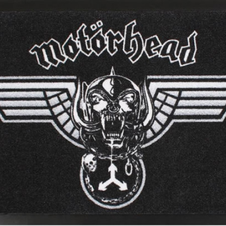 Winged warpig doormat