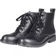 Boots with zipper BLK