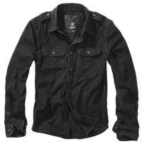 Vintage Shirt longsleeve Black