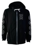 Ouija Board Fleece Zip Hood