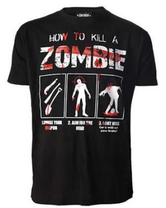 - How To Kill A Zombie T-Shirt