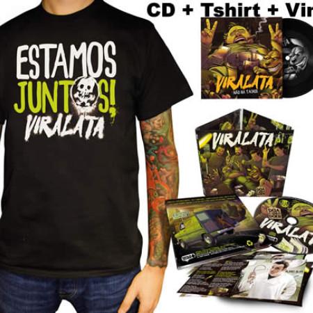 Doa a Quem Doer CD + Tshirt + Vinil