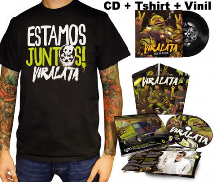 - Doa a Quem Doer CD + Tshirt + Vinil