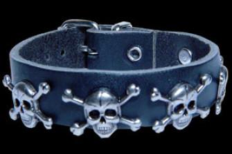 - 1 Row Skull&Bones Stud