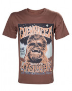 Star Wars - Chewbacca Poster T-shirt