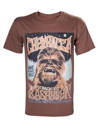 - Star Wars - Chewbacca Poster T-shirt