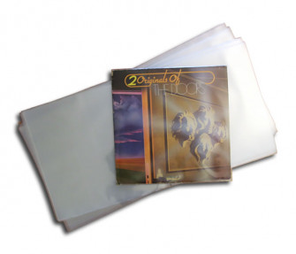 - Double LP protective sleeves made from CPP