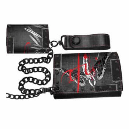 - A Fire Inside-Falling Angel Chain wallet