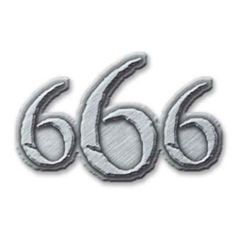 - 666 Metal Pin