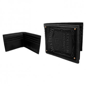 - Jack Daniels - Bifold Wallet Leather Patch
