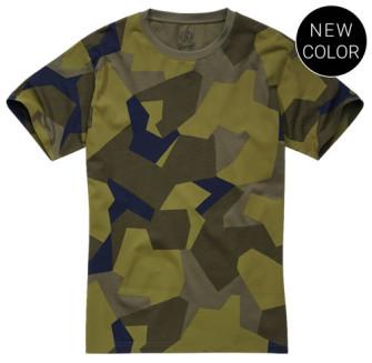 - Tshirt Swedish Camo