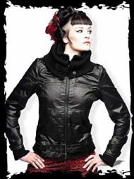 Black Jacket with Belt Buckle