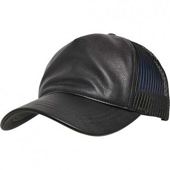 - Baseballcap - Leather
