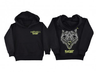- Young Wolf (Black, Hoodie)