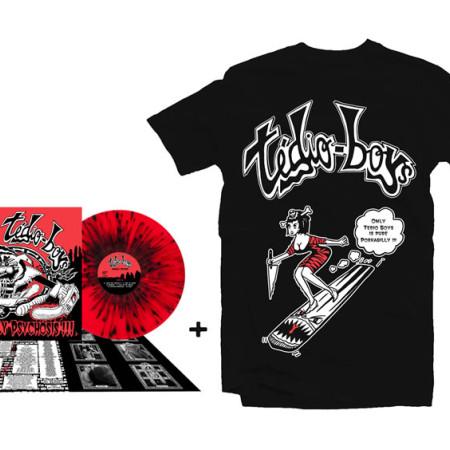 Pin Up Tshirt + LP Porkabilly Psychosis