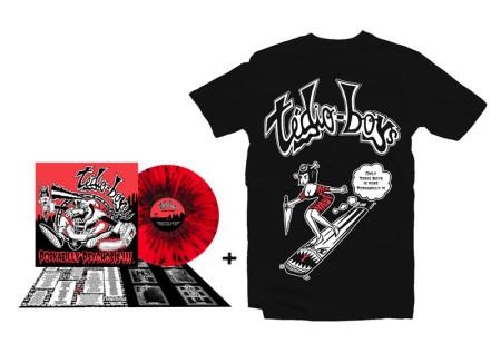 - Pin Up Tshirt + LP Porkabilly Psychosis