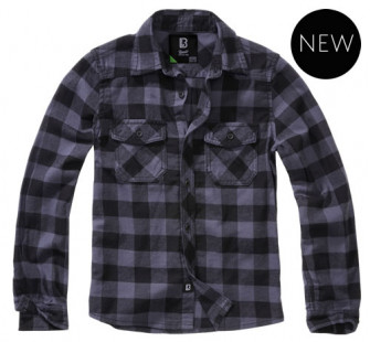 - Kids Checkshirt (Grey)