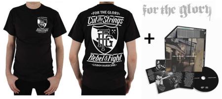 - Rebel&Fight (Tshirt) + CD Lisbon Blues