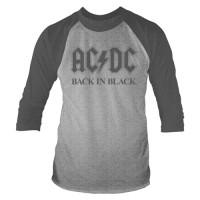 Back in Black (3/4 Sleeve)