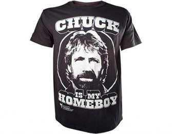 - chuck is my homeboy
