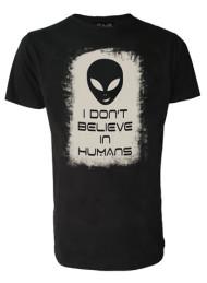 Alien Don't Believe In Humans