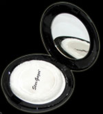 - White Compact Mirror