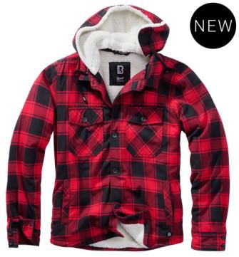 - Lumberjacket hooded
